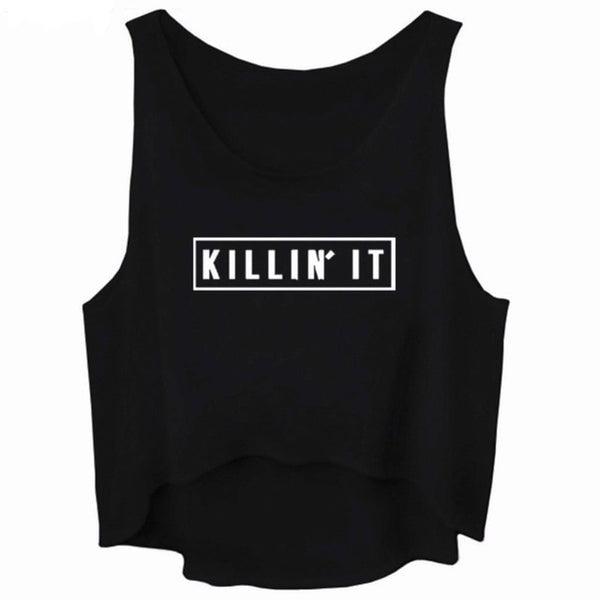 ABSolutely Killin' It! Crop Top