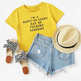 Super Sunshine Crop Top