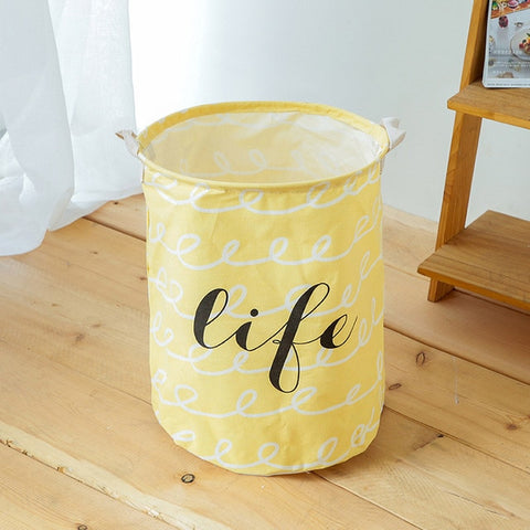 Eco-Friendly Waterproof Cotton Storage Basket