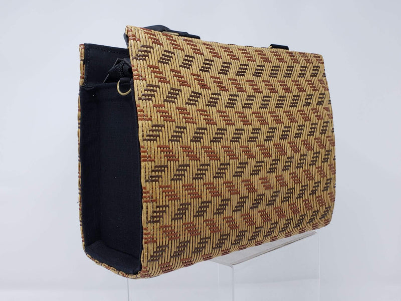 Hmong Bamboo Designed Handbag - Direction - HMONG THREADS