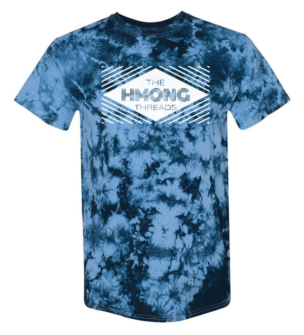 THE HMONG THREADS-  TIE DYE BLUE - HMONG THREADS
