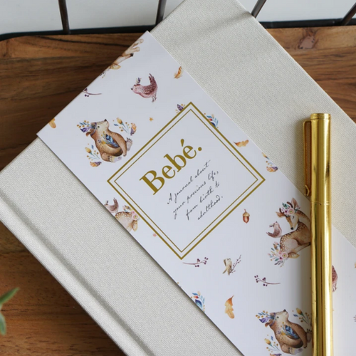 Bebe Keepsake Journal - Ivory, Truly Amor - Glow + Gifts