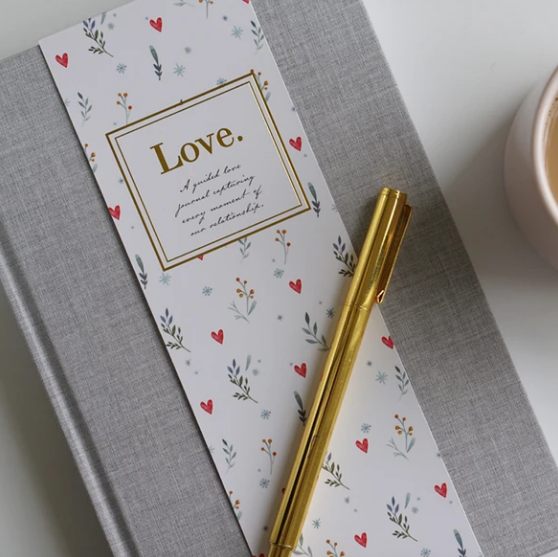 Love. Couples Journal, by Truly Amor - Glow + Gifts