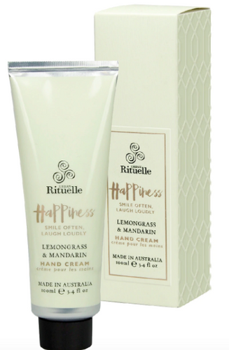Happiness - Lemongrass & Mandarin, by Urban Rituelle - Glow + Gifts