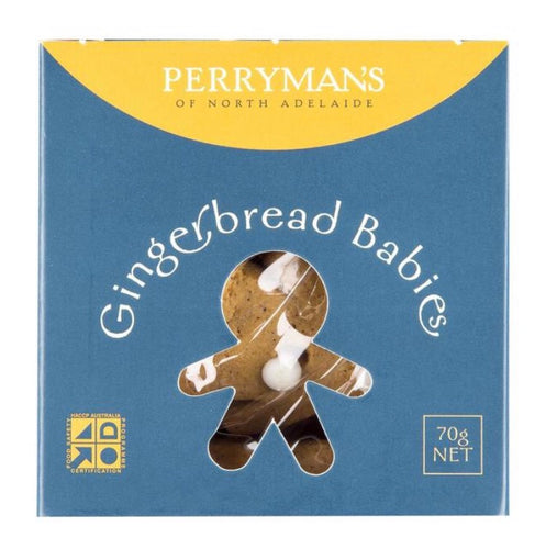 Gingerbread Babies 70g, Perrymans - Glow + Gifts