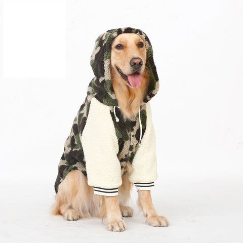 Large Dog Camo Jacket