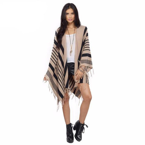 Tribal Honey Poncho