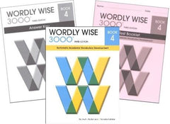 Wordly Wise 3000 Grade 4 SET -- Student, Answer Key and Tests (Systematic Academic Vocabulary Development)