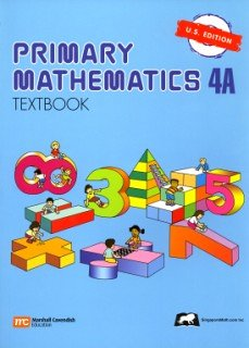 Singapore Math: Grade 4 Primary Math Textbook 4A (US Edition)
