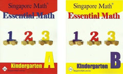 Essential Math Kindergarten SET--Books A and B
