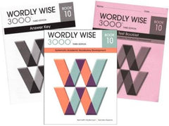 Wordly Wise 3000 Grade 10 SET -- Student, Answer Key and Tests (Systematic Academic Vocabulary Development)