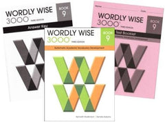 Wordly Wise 3000 Grade 9 SET -- Student, Answer Key and Tests (Systematic Academic Vocabulary Development)