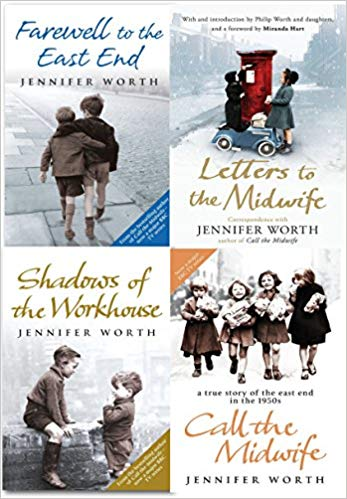 Jennifer Worth Collection 4 Books Set