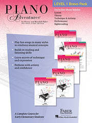 Faber Piano Adventures Level 1 Bravo Pack