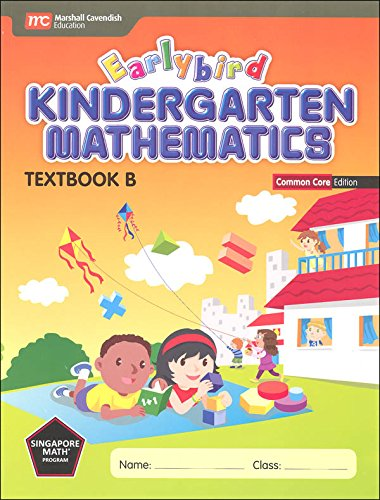 Earlybird Kindergarten Mathematics (Common Core Edition) Textbook B