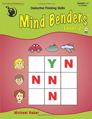 Mind Benders Book 2 (Grades 1-2)