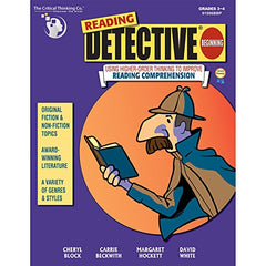 THE CRITICAL THINKING CO. READING DETECTIVE BEGINNING GR 3-4