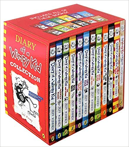 Diary of a Wimpy Kid Collection 12 Books