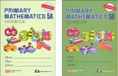 Singapore Math: Grade 5 Primary Math Workbook Set 5A & 5B (US Edition)