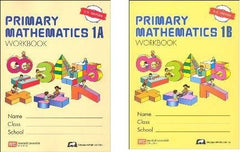 Singapore Math :  Grade1 Primary Math Workbook Set 1A & 1B (US Edition)