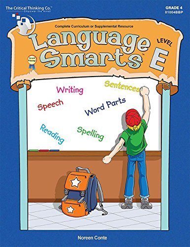 Language Smarts Level E - Reading, Writing, Grammar, and Punctuation for Grade 4