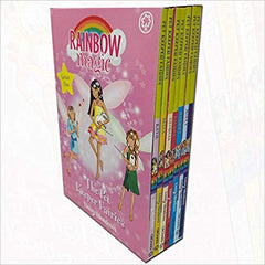Rainbow Magic Series 5 Pet Keeper Fairies Collection 7 Books Box Set