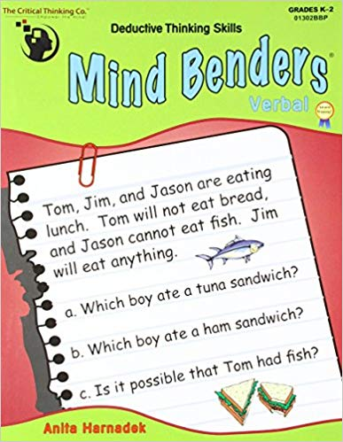 THE CRITICAL THINKING MIND BENDERS VERBAL GR K-2