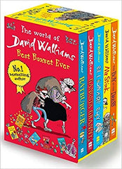 David Walliams Series 1 - Best Boxset Ever 5 Books Collection Set