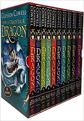 How to Train Your Dragon Collection 10 Books Box Gift Set