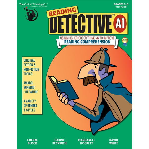 THE CRITICAL THINKING CO. READING DETECTIVE BOOK A GR 5-6