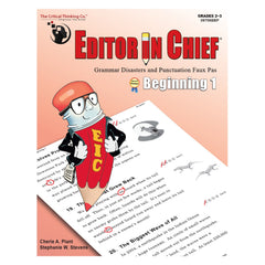 Editor in Chief® Beginning 1