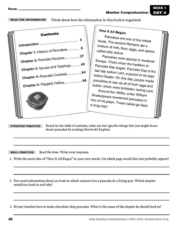 Evan Moor Daily Grade 5( 4 book set: 6-Trait Writing, Academic Vocabulary,MATH , Reading )