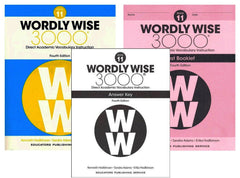 Wordly Wise 3000® 4th Edition Grade 11 SET -- Student Book, Test Booklet and Answer Key (Direct Academic Vocabulary Instruction)