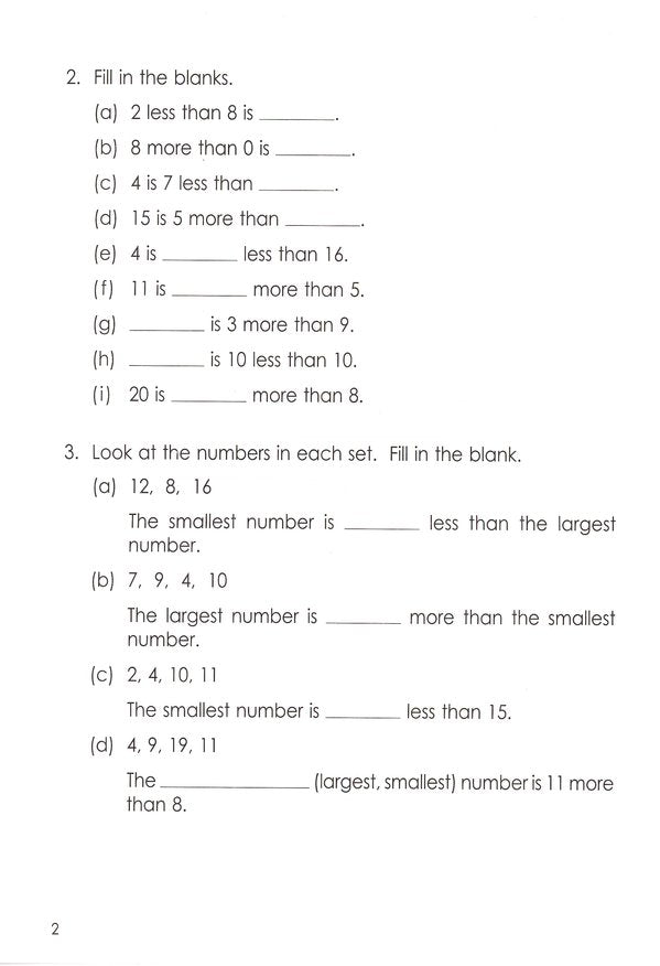 Singapore Math: Grade 1 Primary Mathematics Intensive Practice 1A &1B