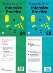 Singapore Math: Grade 2 Primary Mathematics Intensive Practice 2A & 2B