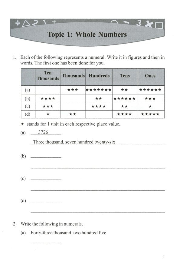 Singapore Math: Grade 4 Primary Mathematics Intensive Practice 4A
