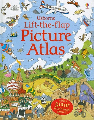 Lift-The-Flap Picture Atlas (Board Books)