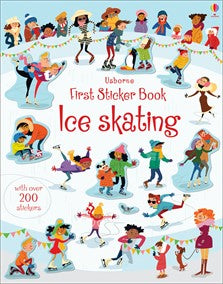 First Sticker Book, Ice Skating