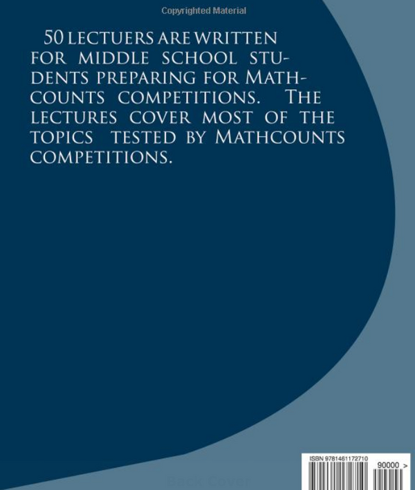Fifty Lectures for MathCounts Competitions (Volume 1-3)