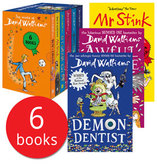 The World of David Walliams Collection - 6 Books
