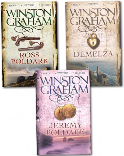Winston Graham Poldark Series 12 Books Collection Set