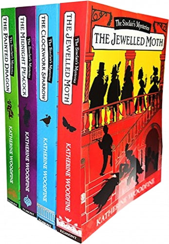 Katherine Woodfine The Sinclairs Mysteries 4 Books Collection Set