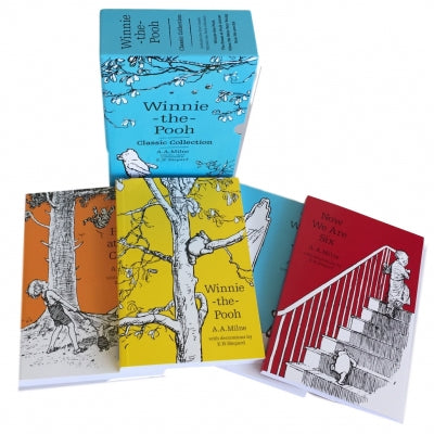 Winnie the Pooh Classic Collection 4 Books Box Set  (Character Classics)