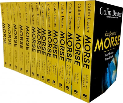 Inspector Morse Mysteries Series Collection Colin Dexter 14 Books Set Pack