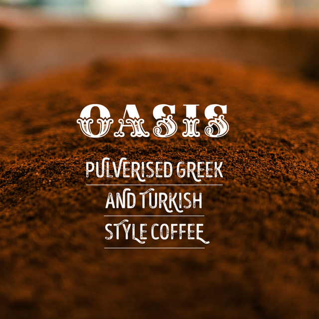 Pulverised Greek & Turkish Coffee