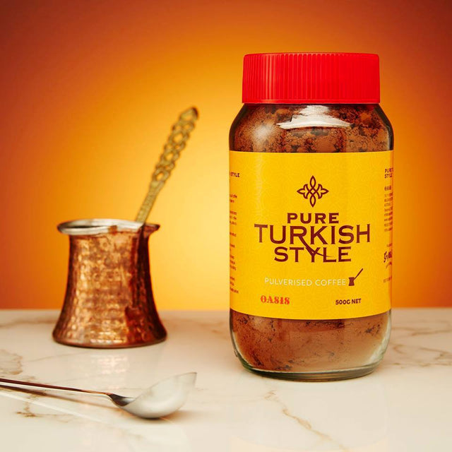 Pure Turkish Style Pulverised Coffee 500g