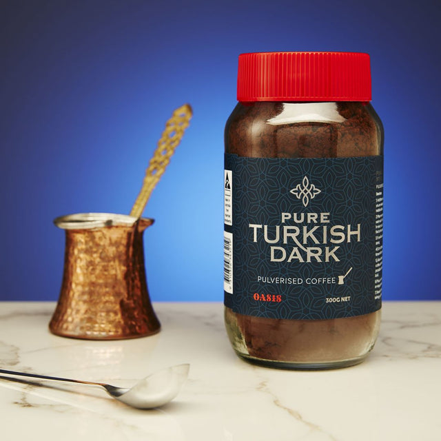 Pure Turkish Dark Pulverised Coffee 300g