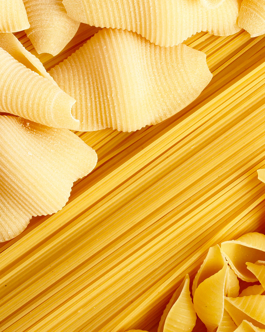 Pasta? Yes, but high quality. The Made in Italy is a guarantee
