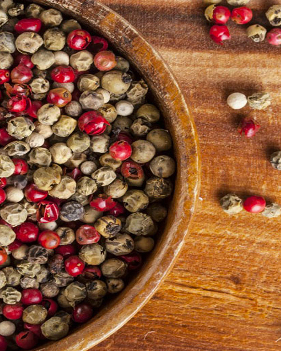 The King of Spices: Pepper varieties and colours