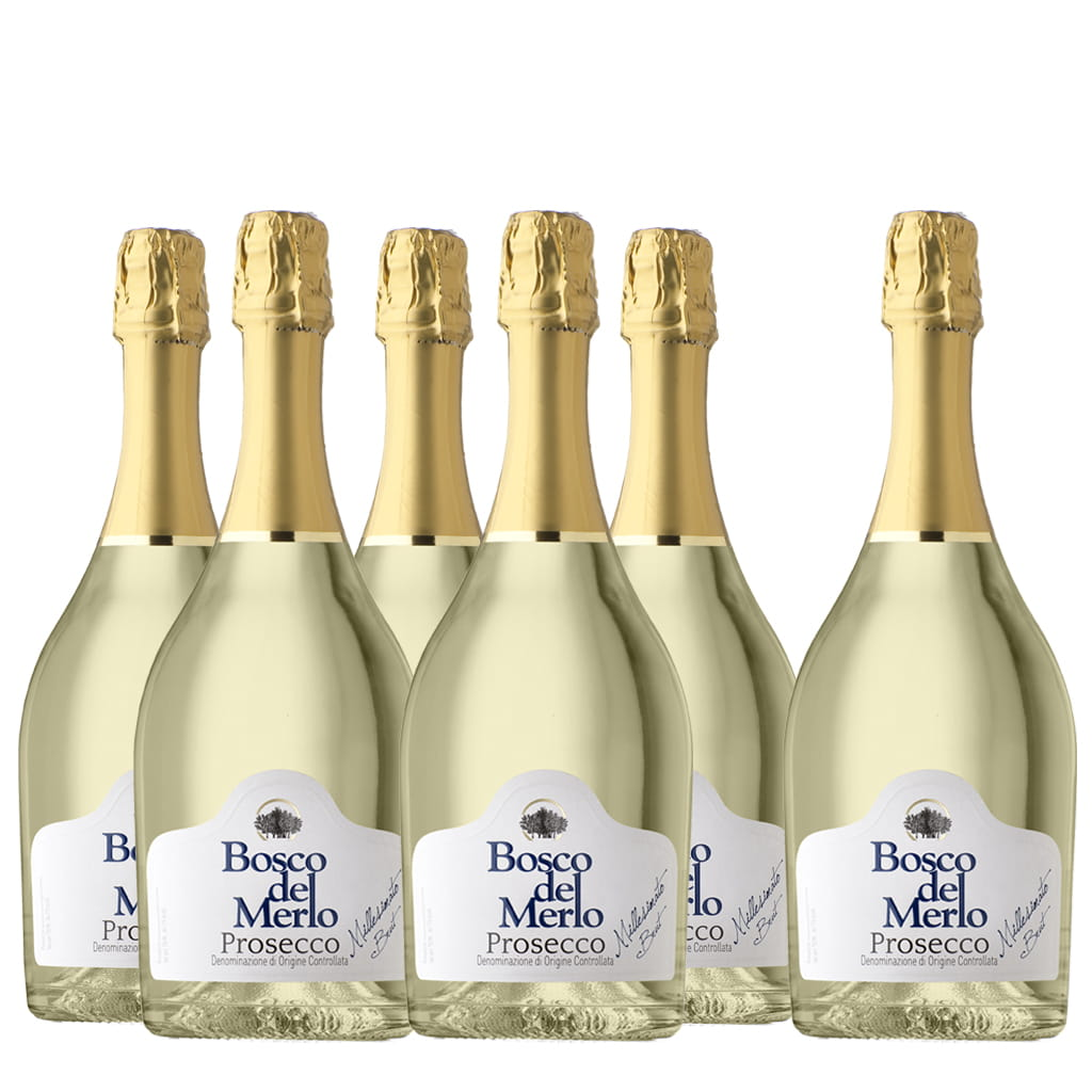 Prosecco Millesimato DOC Brut 6 bottle case - ilikeitalianfood